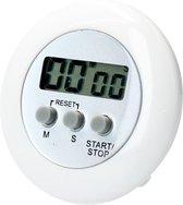 Ronde Digitale Kookwekker – Kan ook gebruikt worden als Timer en Stopwatch