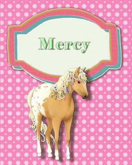 Handwriting and Illustration Story Paper 120 Pages Mercy
