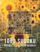 1000 Sudoku - Normal Bis Extrem Schwer