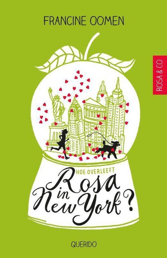 Boek cover Hoe overleef ik - Hoe overleeft Rosa in New York? van Francine Oomen (Paperback)
