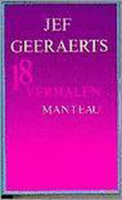 Achttien verhalen - Jef Geeraerts pdf epub