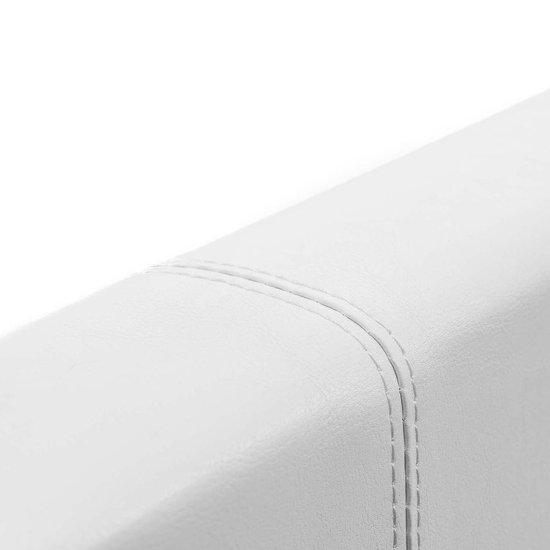 Ottoman bed frame met 828 liter opbergruimte - 180x200 - Wit - EuropeDirectShopping