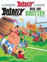 Boek cover Asterix 08. Asterix bij de Britten van Albert Uderzo