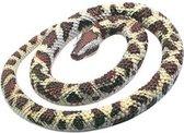 Rubberen python slang