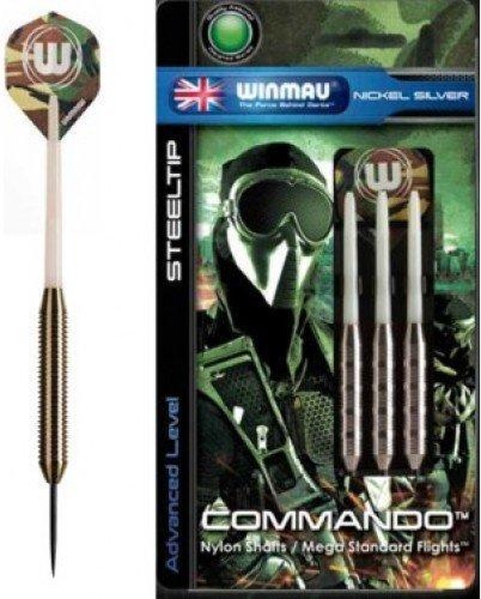 Winmau Commando 24 gr. - Dartpijlen