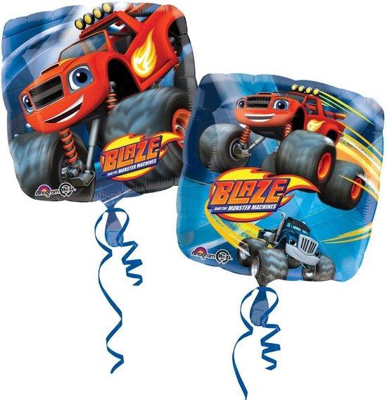 Folieballon Blaze & de monsterwielen 43 x 43 cm