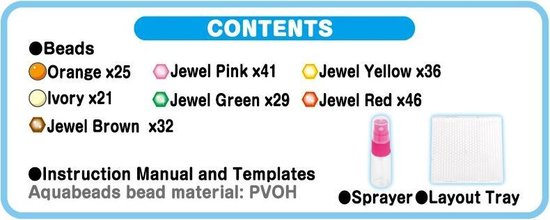 Aquabeads  Mini  Glinsterende Parelpakket  31159 - Hobbypakket