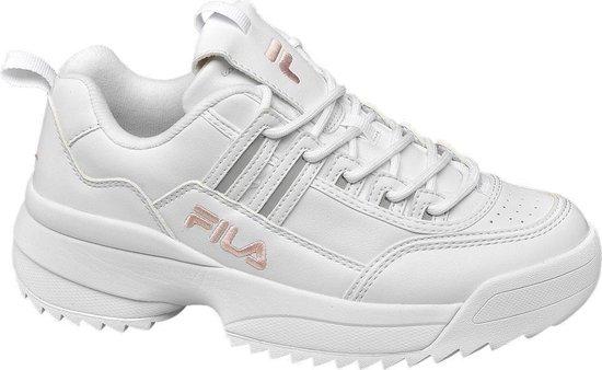   Fila Dames Witte chunky sneaker Maat 39