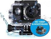 Eken A9 - Action camera + Hoofdband en vele accessoires