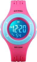 Digitaal Kinderhorloge - Multifunctioneel Horloge - Roze