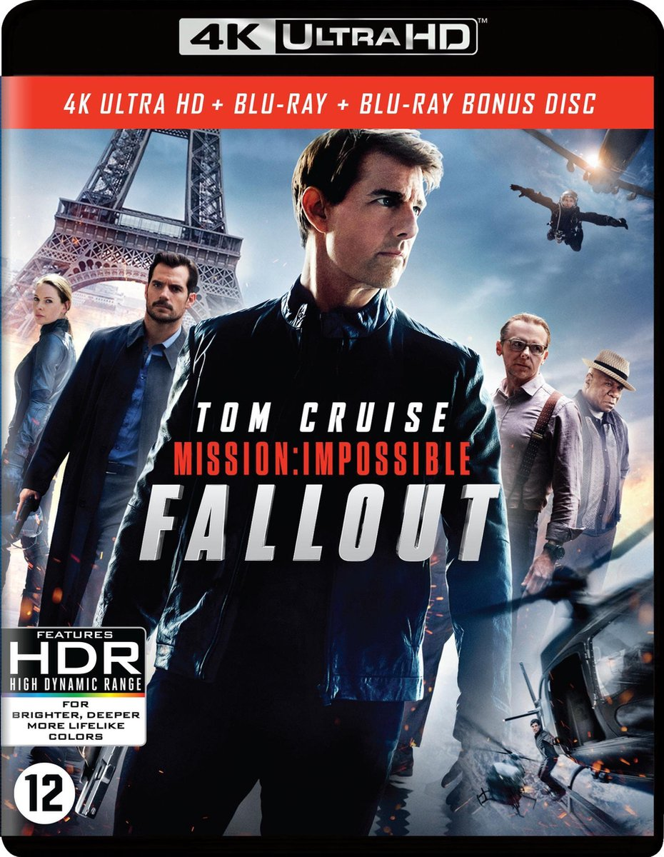Mission: Impossible - Fallout (4K Ultra HD Blu-ray)-