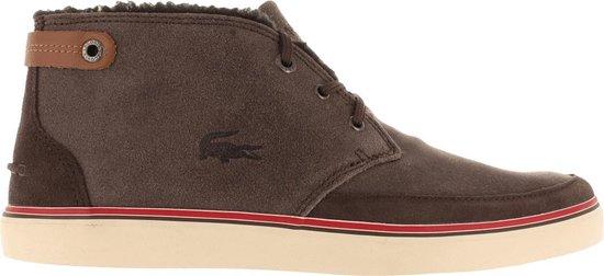 Lacoste Clavel Heren Sneakers - Bruin - Maat 41