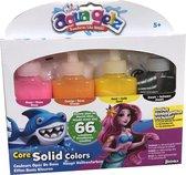 Aqua Gelz Refills - Basis Kleuren Navulflessen - Hobbypakket