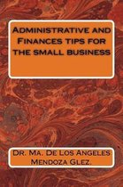 Omslag Administrative and Finances tips for the small business