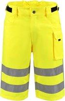 Tricorp Werkbroek RWS Kort  503006 Fluor Geel  - Maat 58