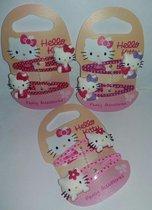 Hello Kitty - haarclipjes - 3 paar
