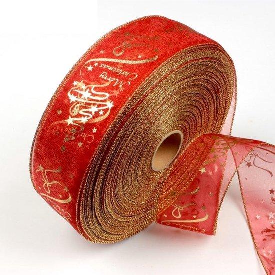Bol Com Kerstboom Lint Kerstversiering Lint 200 Cm Ideaal Voor Kerst Decoratie
