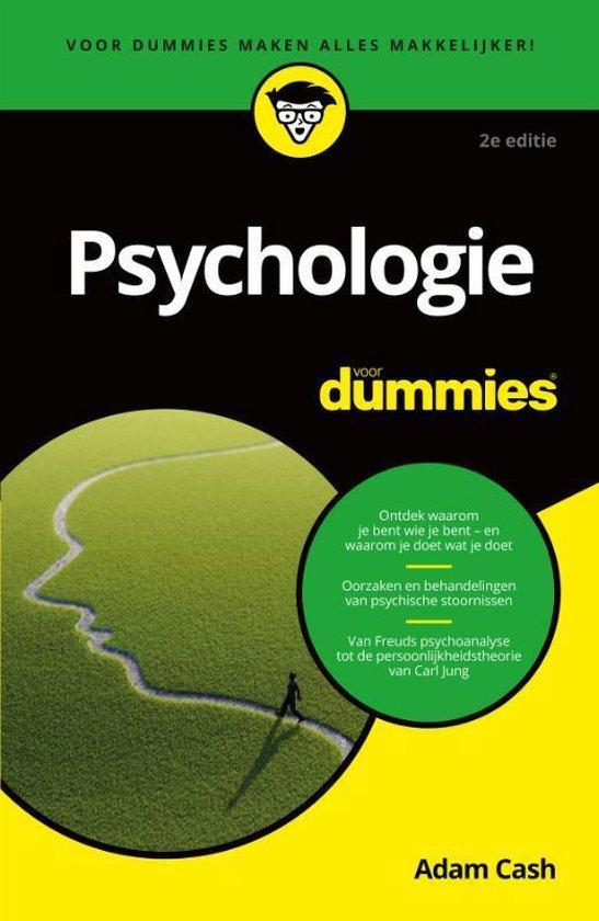 Psychologie voor Dummies - Adam Cash |