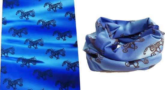 Tube scarf - paarden - Nekwarmer - Multifunctioneel