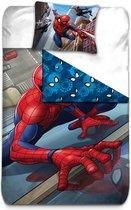 Spider-Man Climber - Dekbedovertrek - Eenpersoons - 140 x 200 cm - Polyester