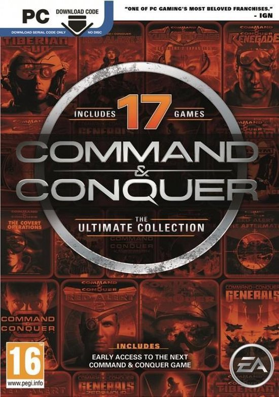 Command & Conquer - The Ultimate Collection - Code in a Box - PC