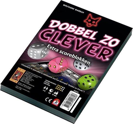 Spel - Dobbelspel - Clever - Dobbel zo clever - Extra scoreblokken - 2st.