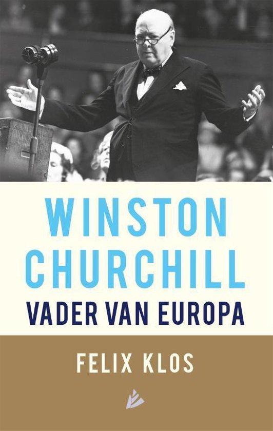 Boek cover Winston Churchill, vader van Europa van Felix Klos (Paperback)