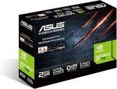 ASUS GT710-SL-2GD5-BRK - Grafische kaart - GF GT 710 - 2 GB GDDR5 - PCIe 2.0 - DVI, D-Sub, HDMI - zonder ventilator