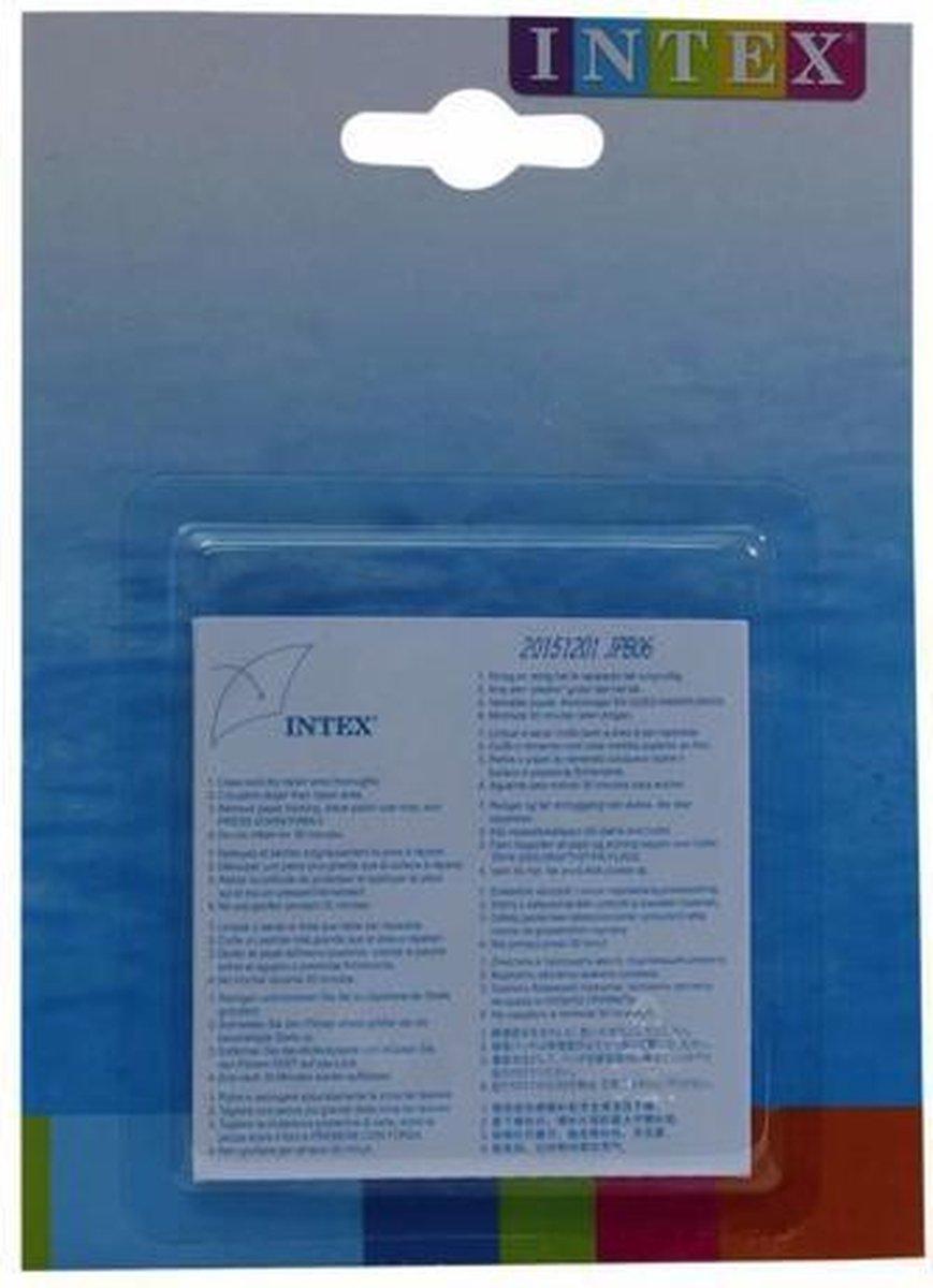 Intex Reparatie Pleisters - 6 stuks - 7x7 cm - Voor opblaasartikelen
