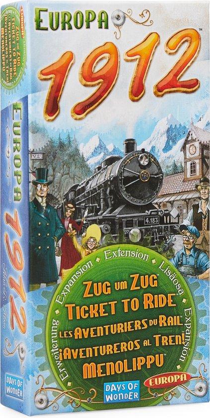 Afbeelding van Ticket to Ride Europa 1912 - Uitbreiding - Bordspel
