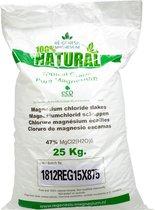Ré-genesis Magnesium Badkristallen Vlokken – Magnesium Badzout – Voetbadzout - 25 kg