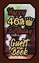 Happy 46th Birthday Guest Book