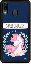 Galaxy M20 Softcase hoesje Sweet Unicorn