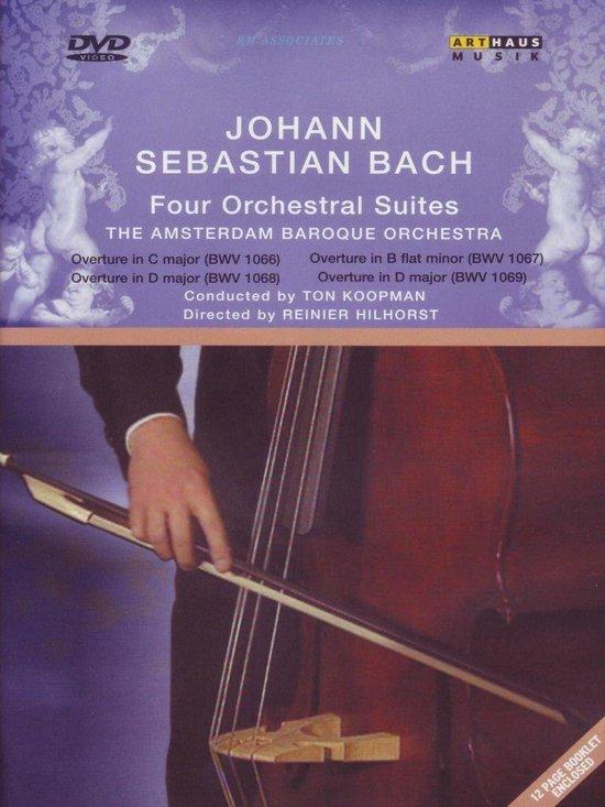Cover van de film 'Amsterdam Baroque Orchestra - Four Bach Orchestral Suites'