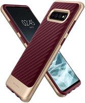 Spigen Neo Hybrid Backcover Samsung Galaxy S10 Plus hoesje - Paars