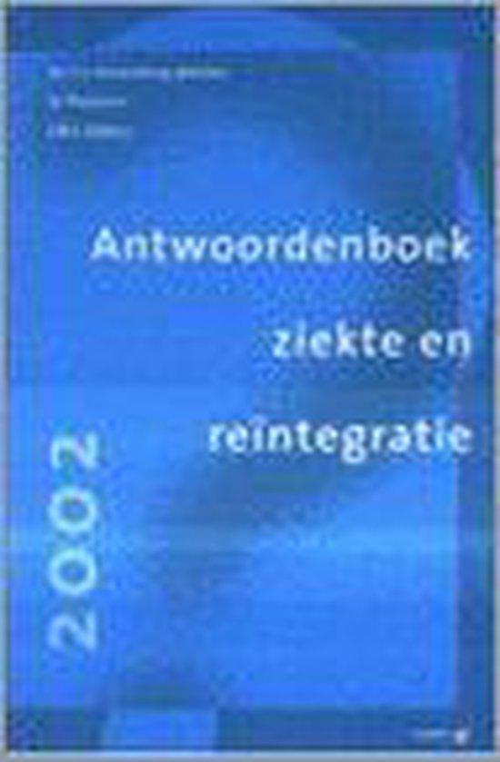 ANTWOORDENBOEK ZIEKTE EN REINTEGRATIE 20 - E.J. Kronenburg-Willems |
