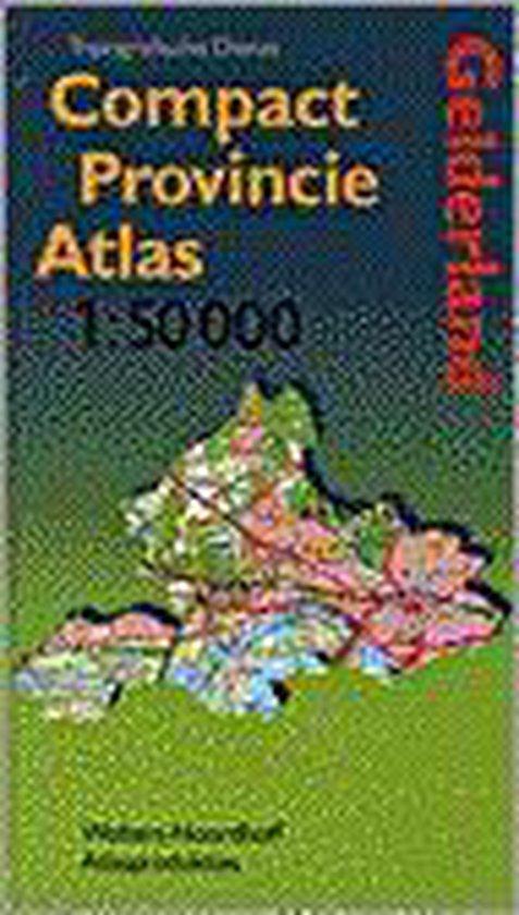 COMPACT PROVINCIE ATLAS GELDERLAND - Topografische Dienst pdf epub