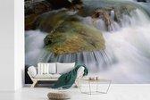 Fotobehang vinyl - Watervallen in het Nationaal park Fundy in New Brunswick breedte 450 cm x hoogte 300 cm - Foto print op behang (in 7 formaten beschikbaar)
