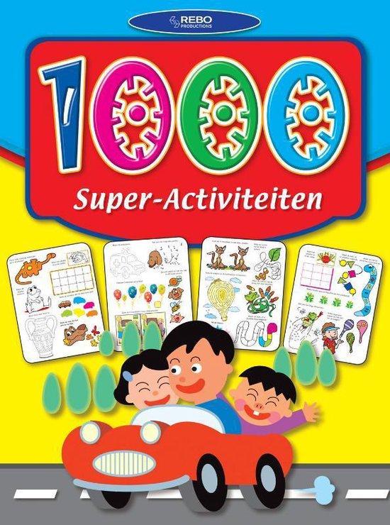 Cover van het boek '1000 Super activiteiten'