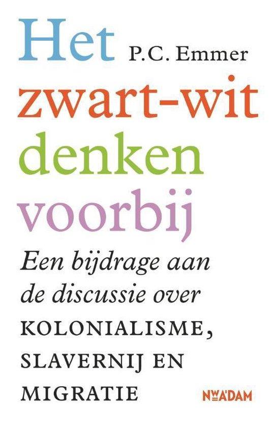 Boek cover Het zwart-witdenken voorbij van Piet Emmer (Paperback)