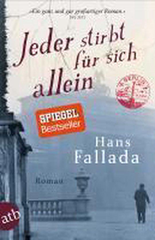 Boek cover Jeder stirbt fur sich allein van Hans Fallada (Paperback)