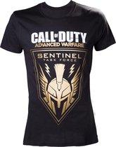 Merchandising CALL OF DUTY ADVANCED WARFARE - T-Shirt Black Sentinel Men (M)