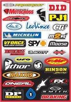 Factory Effex Stickervel Sponsor Kit B