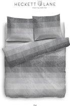 HNL Zuri Dekbedovertrek - Eenpersoons - 135x200 + 80x80 cm - Grey