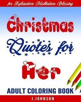 Christmas Quotes for Her