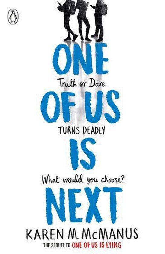 Boek cover One Of Us Is Next van Karen Mcmanus (Onbekend)