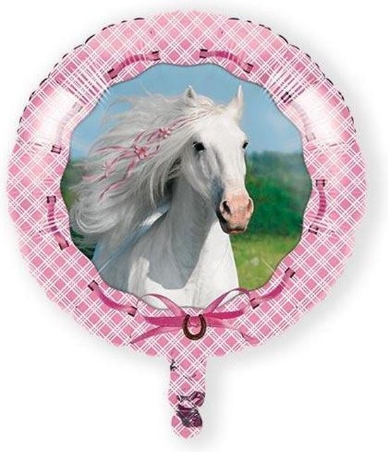 Folieballon heart my horse (43cm)