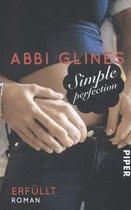 Boek cover Simple Perfection 02 - Erfüllt van Abbi Glines