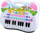 KD Kids Dieren Piano - Roze