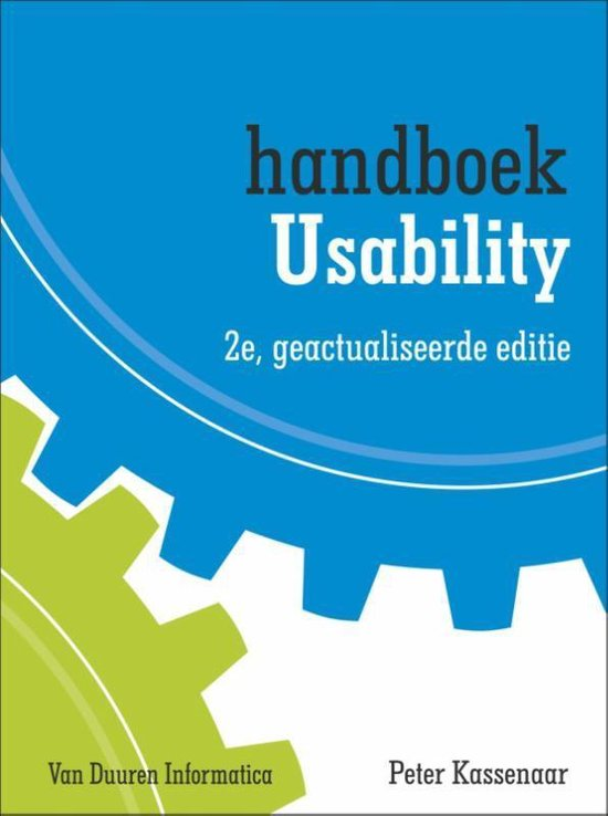 Handboek usability - Peter Kassenaar |